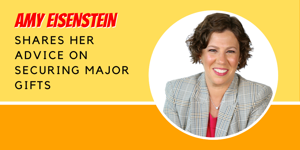 Amy Eisenstein On Major Gifts