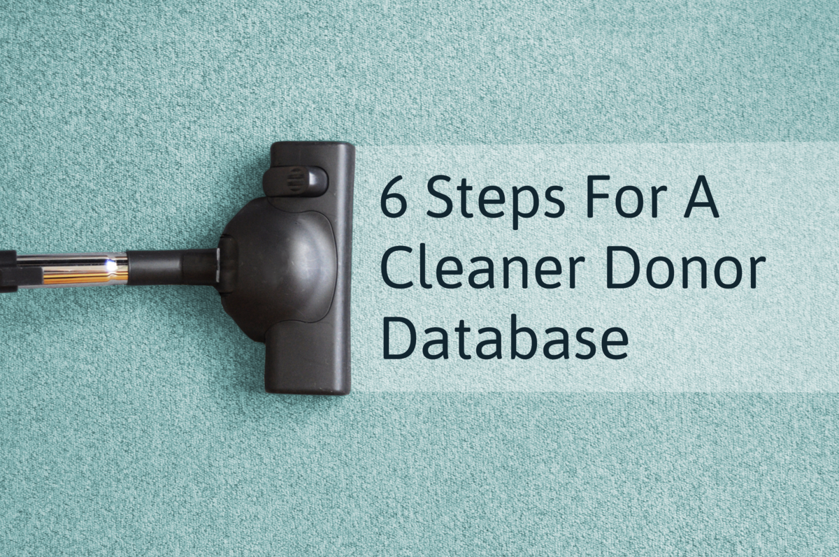 Clean Your Donor Data
